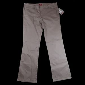 Dickies Pants - Dickie's Slim Khaki Boot Leg Leg Pants NWT